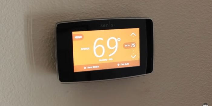Do I need to pay monthly fees for a thermostat for smartthings